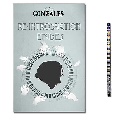 Chilly Gonzales Re-Introduction Etudes mit CD, Piano-Bleistift , 9782954898803