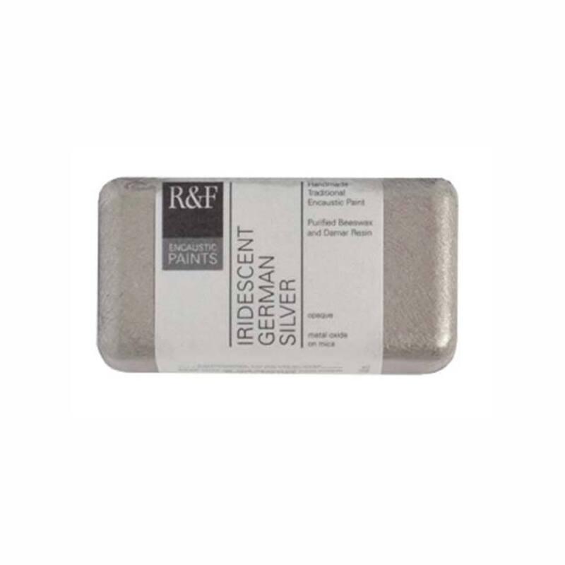 R&F Encaustic 40Ml Iridescent German Silver