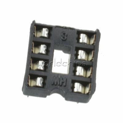 50pcs 8 Pin 8pin Dip Pitch Integrated Circuit Ic Sockets Adaptor Solder Type