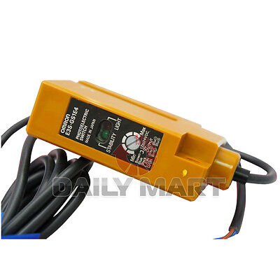 New Omron E3s-gs1e4 Photoelectric Sensor 80ma Npn Output 010mm