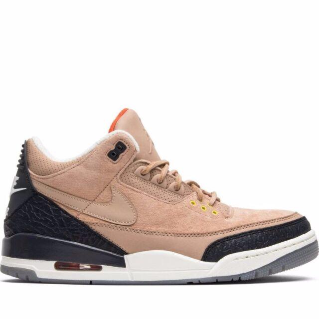 NEW Nike Air Jordan 3 Beige Bio LE 8US Scott Thinker rare