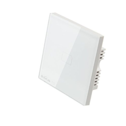 BroadLink 1/2 Gang Smart Wi-fi Enabled Touch Screen Light Switch RM PRO IR RF