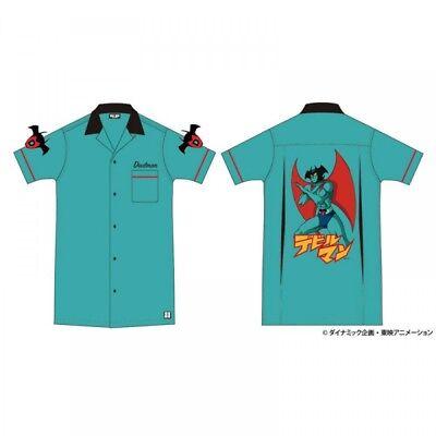NEW Devilman Bowling shirt Japan Anime Fashion from Japan F/S