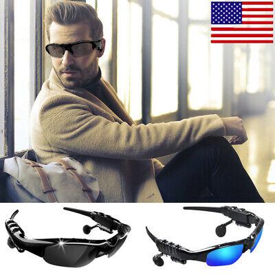 Wireless Sunglasses Polarized Stereo Headset Headphone With Mic Music Player (Sunglasses Music Player)