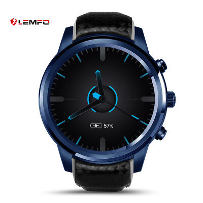 LEMFO LEM5Pro Bluetooth 16GB 3G SIM Astute Watch Phone GPS WiFi For Android iOS