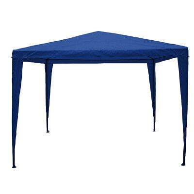 Lassic Garden Vida Gazebo, Party Tent Garden Gazebo Canopy  3x3 m Blue