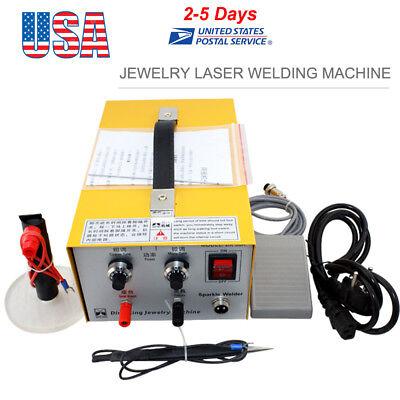 Pulse Sparkle Spot Welder Jewelry Welding Machine Gold Silver Platinum 110v Usa