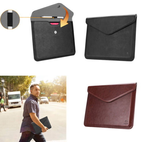 Fintie Leather Sleeve Case W/Apple Pencil Holder for iPad Pr