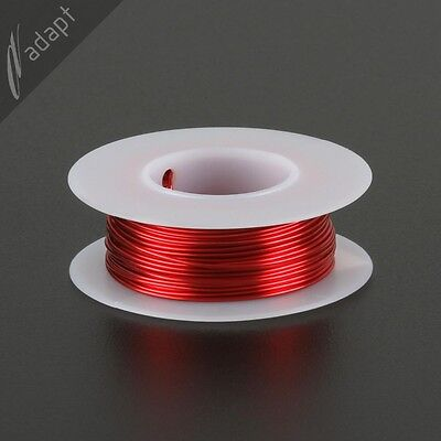 Magnet Wire Enameled Copper Red 20 Awg Gauge 155c 18lb 40ft