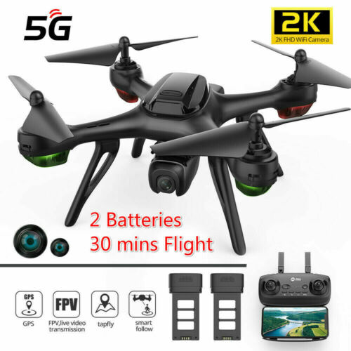 Holy Stone HS130D GPS FPV Drone with WiFi 2K FHD Camera RC 5G Quadcopter Tap-Fly