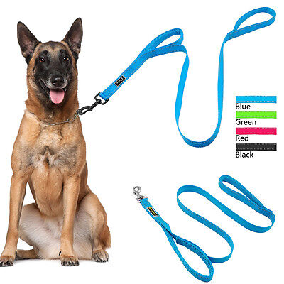 Reflective Pet Gear Dog Leash with Traffic Padded Handle Heavy Duty for M/L Dogs