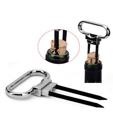 Two-prong Cork Puller Wine Opener Professional Red Wine Bottle StoppWF