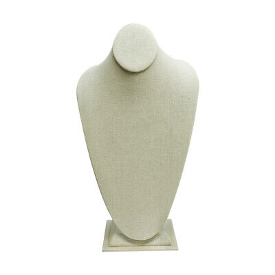 8-14 X 14-12 Tall Linen Covered Necklace Stand Pendant Retail Jewelry Display
