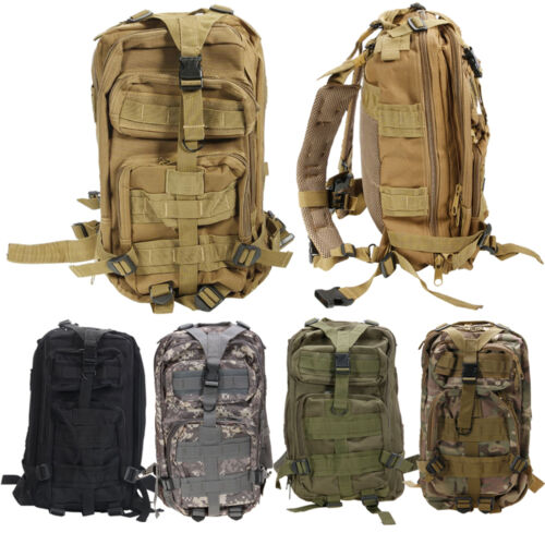 Hot Alfresco Neutral Adjustable Military Tactic Backpack Rucksacks Hiking Travel