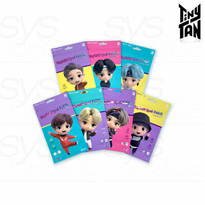 BTS TinyTAN Official Authentic Goods Spot Patch 51p x 7SET + Tracking Number