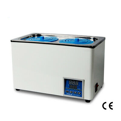 Digital Thermostatic Lab Water Bath Double Holes Electric Heating Rt To 99 600w