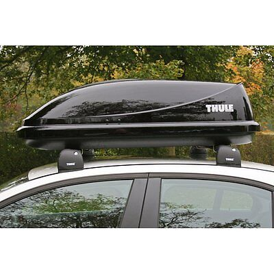 Thule Ocean 80 Car Roof Box Gloss Black Finish - 320 Litre Capacity