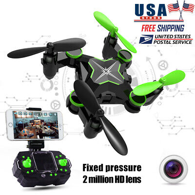 Foldable RC Quadcopter Mini Drone Toys With WiFi  2MP FPV 720p HD Camera Selfie