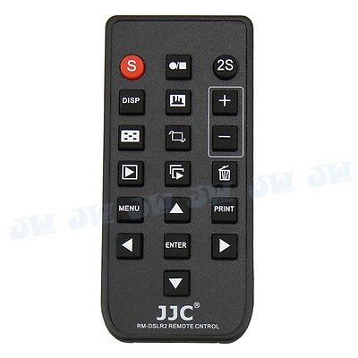 JJC Wireless Remote Control fr Sony A6500 A6400 A6300 A6000 NEX 7 6 as RMT-DSLR2