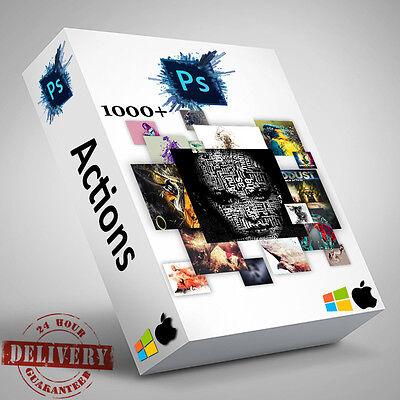 1000 Professional Photoshop Actions Studio Photographers Plugin Presets Bundle