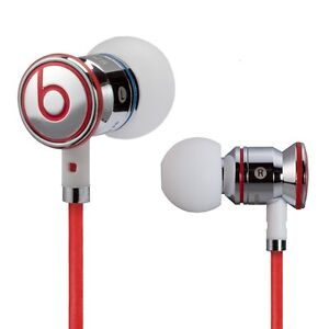 Monster Beats by Dr Dre iBeats In Ear Headphones Earphones Chrome NEW DD