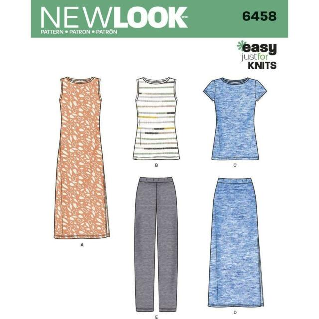 Look 6458 Sewing Pattern Misses Easy Knit Separates Ebay