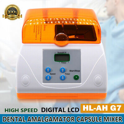 G7 Digital Amalgamator Dental High Speed Amalgam Machine Lcd Capsule Mixer Ce