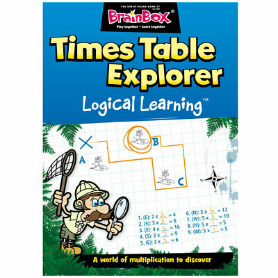 Logical Learning Times Table Explorer Work Book - Children's (Learning Times Tables Kids)