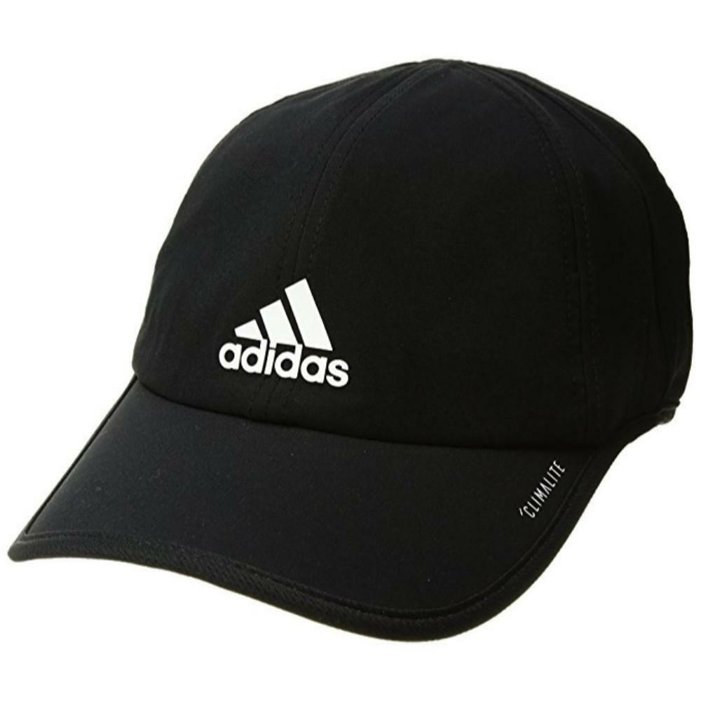 c52c92234fa adidas Men s Superlite Cap Hat Running OSFA Adjustable Black for ...