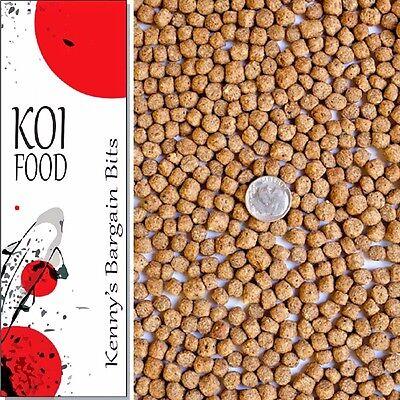 25 lbs Bulk Koi Fish Food 32% Protein LARGE Floating Pond Pellets