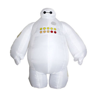 Big Hero 6 Baymax Mascot Adult Inflatable Costume Funny Dress Halloween Gift