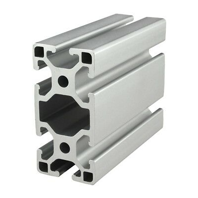8020 Inc T-slot 40mm X 80mm Aluminum Extrusion 40 Series 40-4080-lite X 915mm N