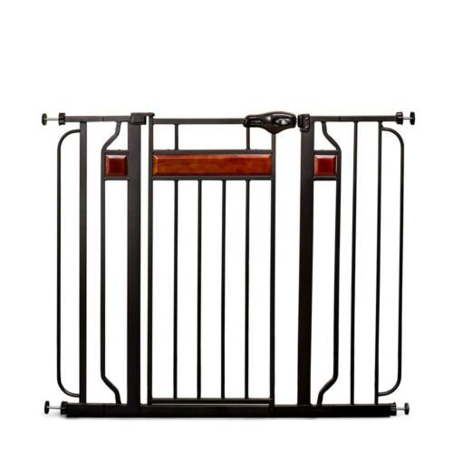 Regalo Home Accents 37 in. Extra-Tall Metal Walk-Through Safety Gate