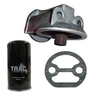 Oil Filter Conversion Kit Fits Massey Ferguson Industrial Tractors 203 205 302