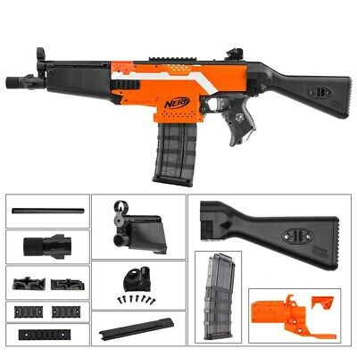 Worker4Nerf MP5 Style-A Imitation Mod Kit for Nerf Stryfe Foam Blaster