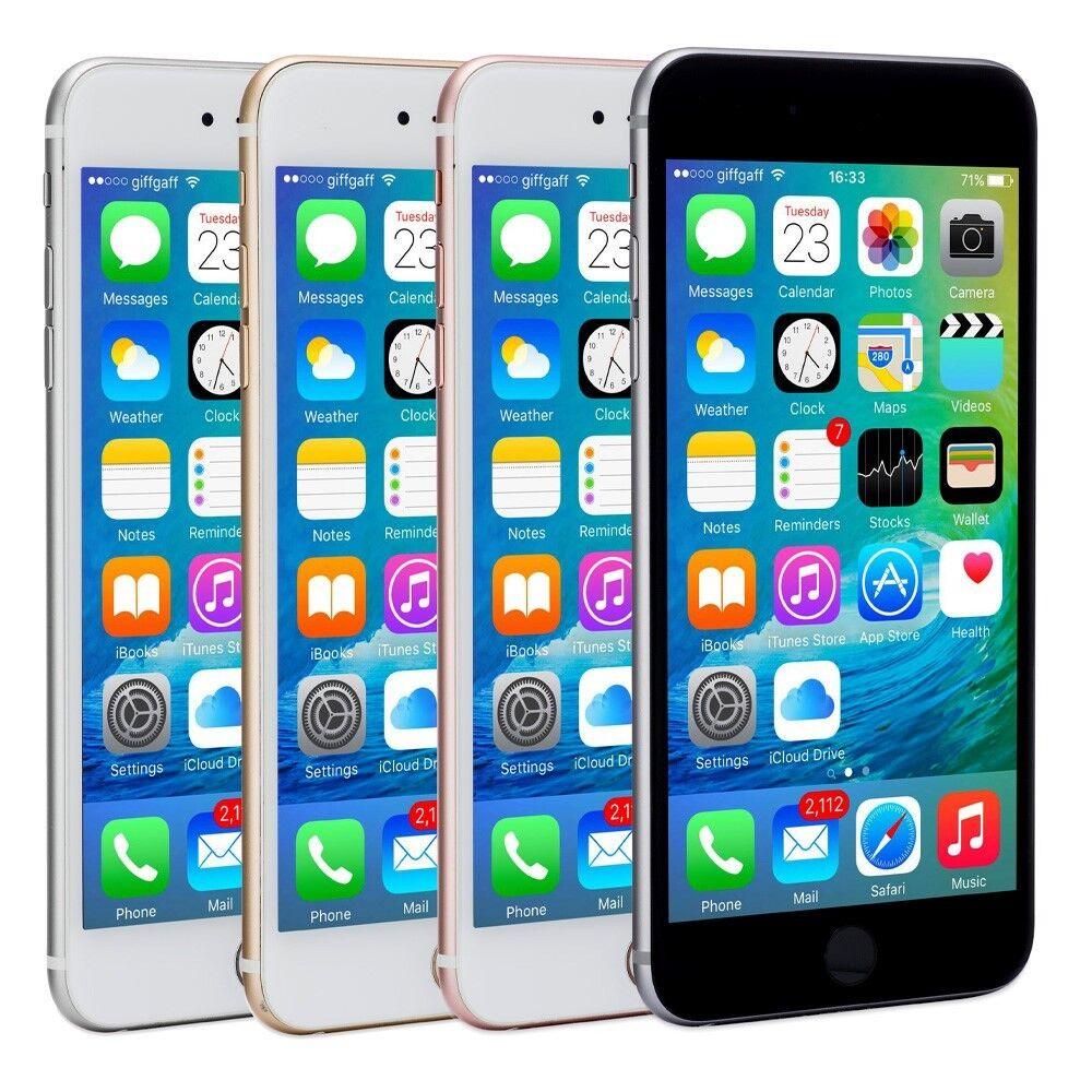 Apple iPhone 6s Plus Smartphone AT&T Sprint T-Mobile Verizon or Unlocked 4G