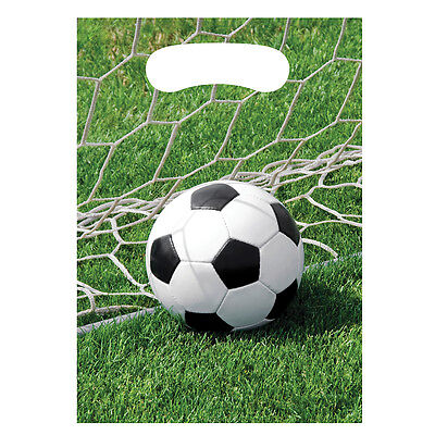 Soccer Treat Bags [8ct] Sports Birthday Party Banquet Favor Supplies
