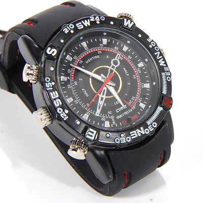 Spy Video Camera Watch Tiny Small Pinhole DVR Hidden Secret Wireless Wristwatch for sale  Morrow