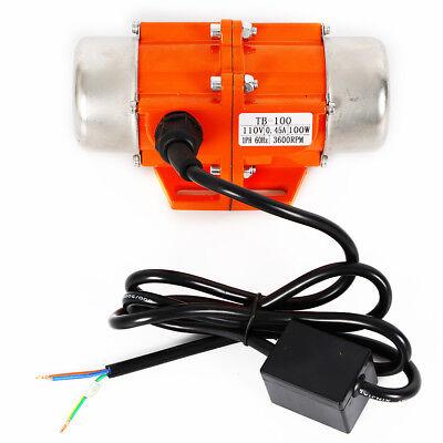 Concrete Vibrator Vibration Motor 100w Single Phase For Shaker Table Vibrating