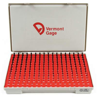 Vermont Gage 901200300 Plug Gage Setminus0.011-0.250black