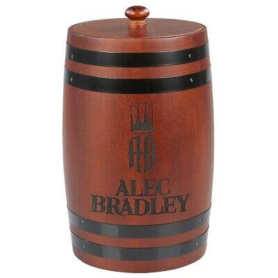 Alec Bradley Firkin Barrel Style Cigar Humidor - New