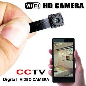 Wireless Spy Nanny Cam Mini Micro Dvr WIFI IP Pinhole DIY Digital Video Camera
