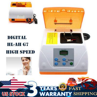 Dental G7 Amalgamator High-speed Mixer Amalgam Capsule Mixer Blender Lcd 110v