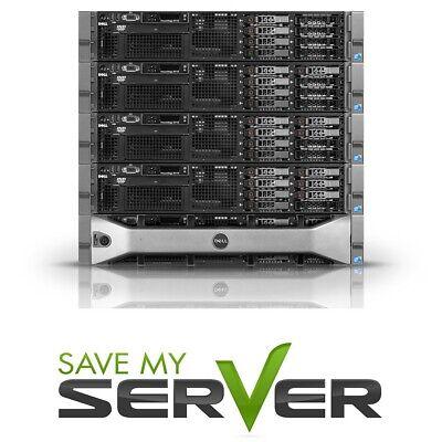 Dell PowerEdge R710 Server | 2x E5645 = 12-Cores | 32GB | Perc6i | 2x 300GB SAS