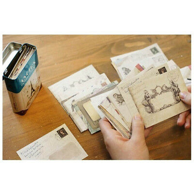 Retro Greeting Letter Envelope Envelopes Vintage Envelope Stationery Paper