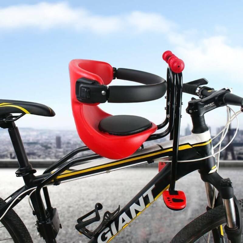 Kinderfahrradsitz Fahrrad Kindersitz Vorne Halterung bis50kg mit  Sicherheitsgurt | eBay