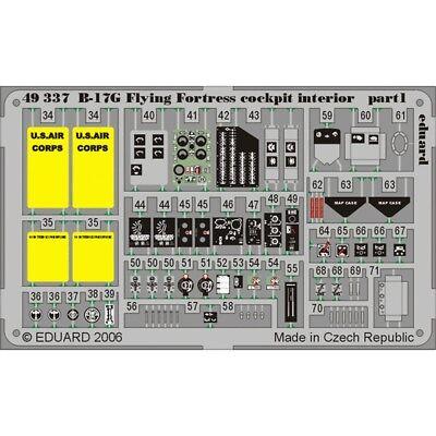 1:48 B-17g Model Kit - Edbig4873 Eduard Set 148 B17g Revell ()