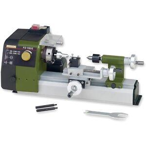 Proxxon FD 150/E Lathe 24150 / 502015 / RDGTools Metal lathe metalworking