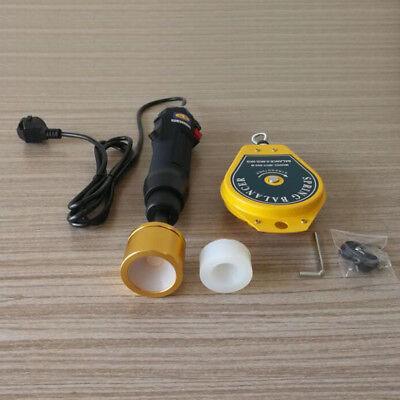 Handheld Electric Bottle Capping Machine Screw Capper Cap Sealing Tool Black Usa