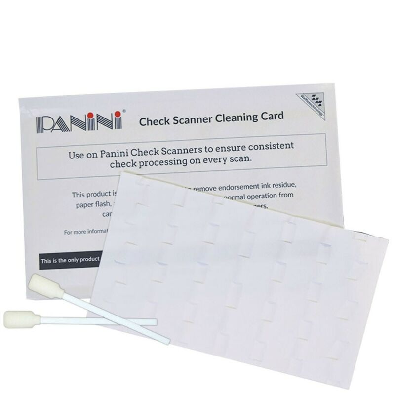 Panini Check Scanner Cleaning Kit
